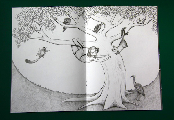 Colouring Book Tree Page