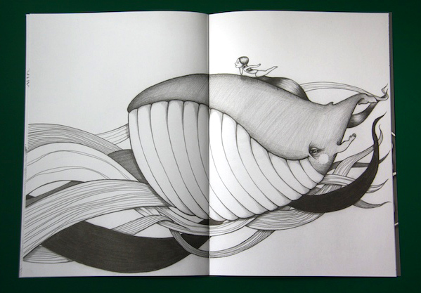 Colouring Book Whale Page