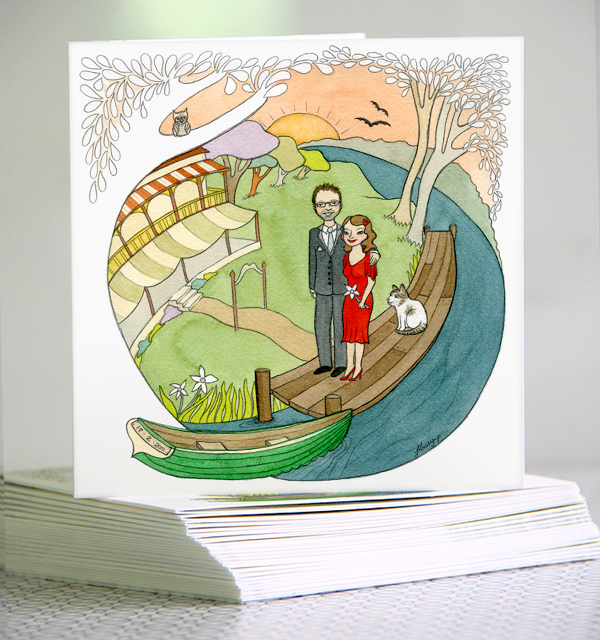 Wedding Invitation commission