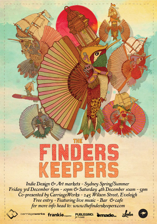 Sydney Finders Keepers Flyer