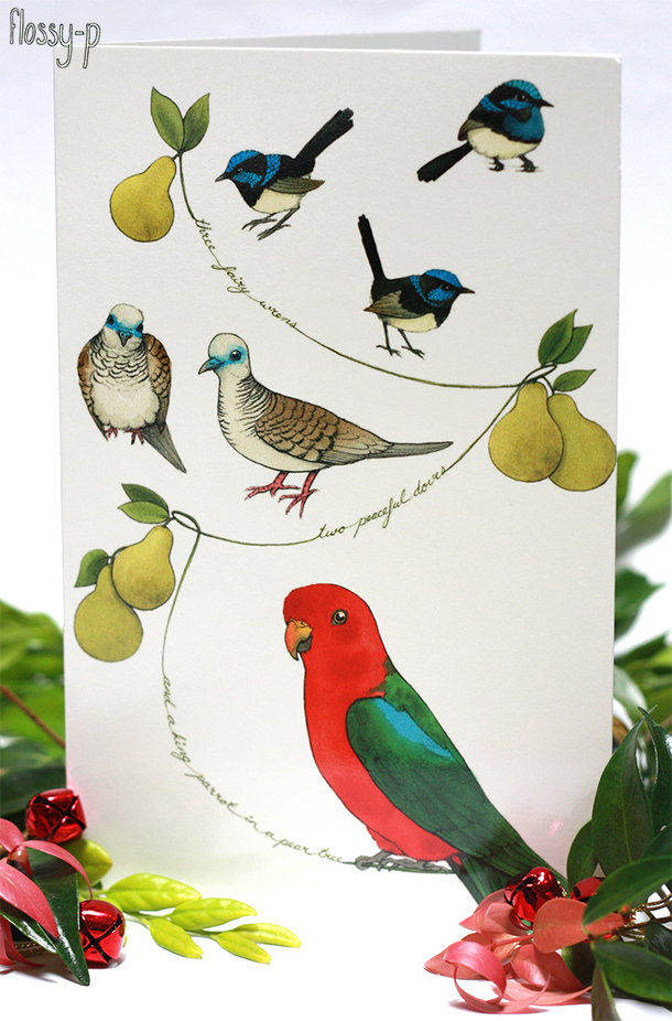 Australian Christmas Card by flossy-p