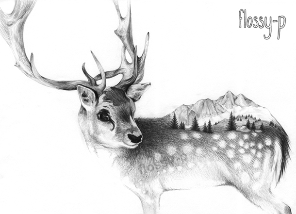 10+ Christmas Drawing Reindeer