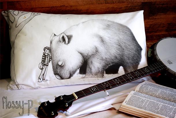 BanjoBoyAndGiantWombat_pillowcase610_flossy-p